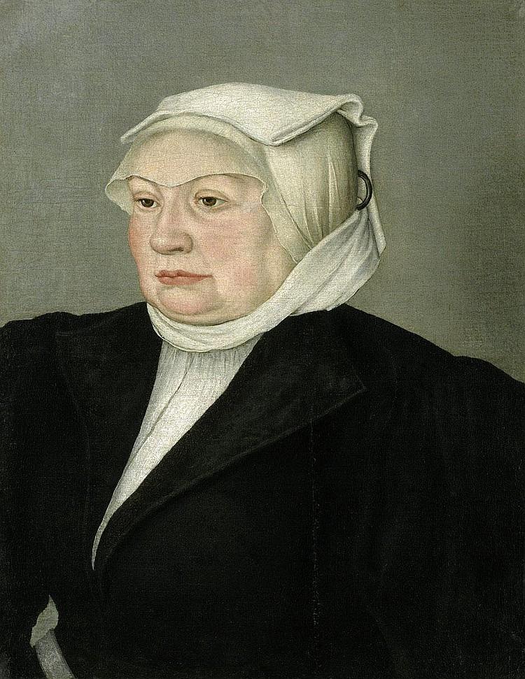 Cranach, Lucas d. J. - Umkreis: Bildnis einer Bürgersfrau