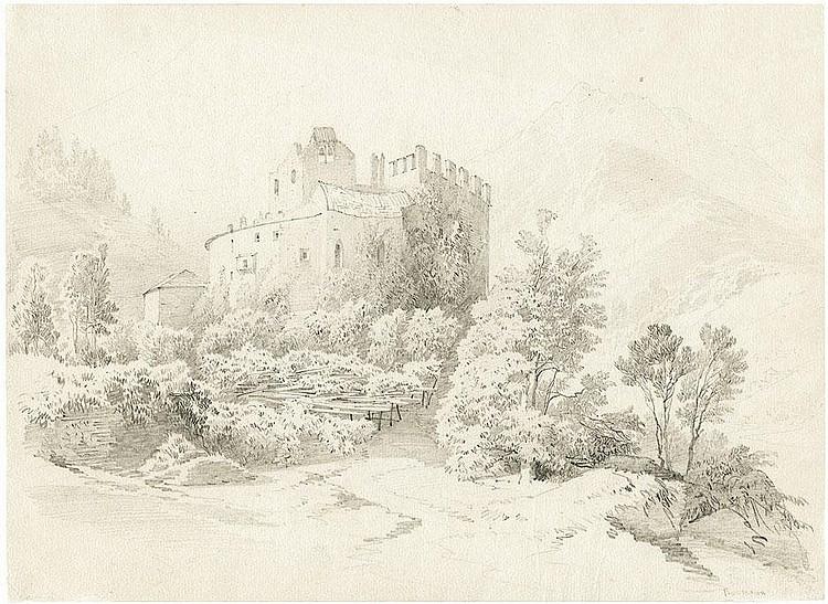 Biermann, Eduard: Schloss in Tirol