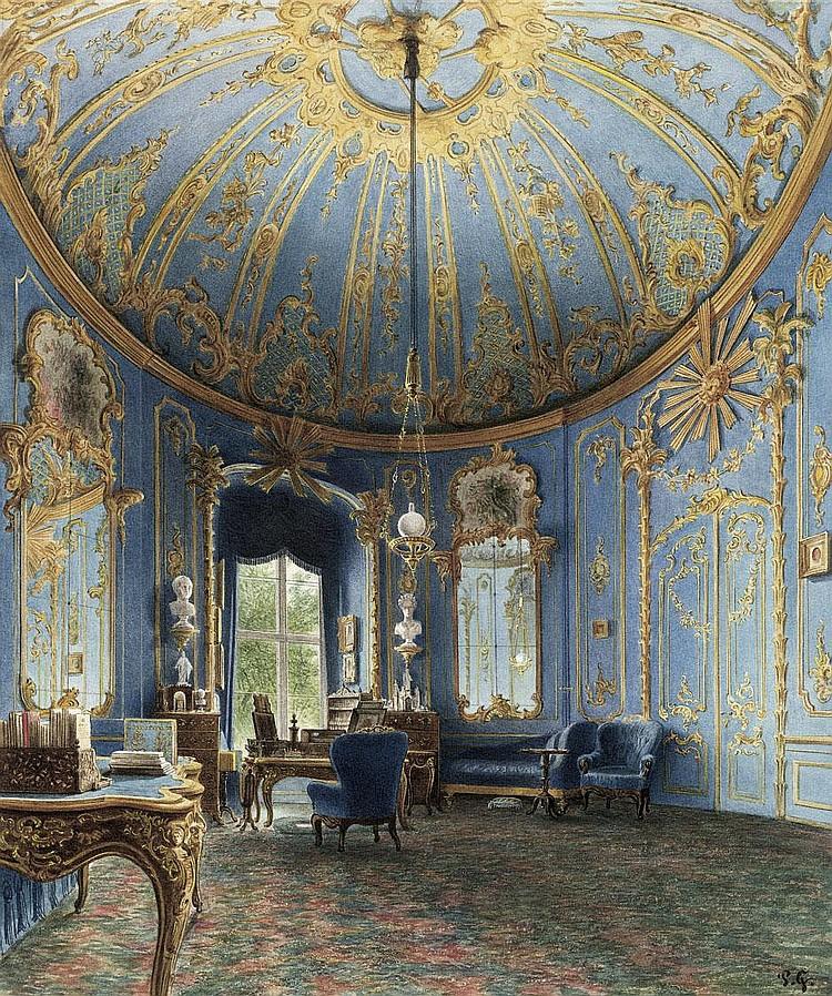 Graeb, Paul: Schreibzimmer Friedrichs II. im Berliner Schloss