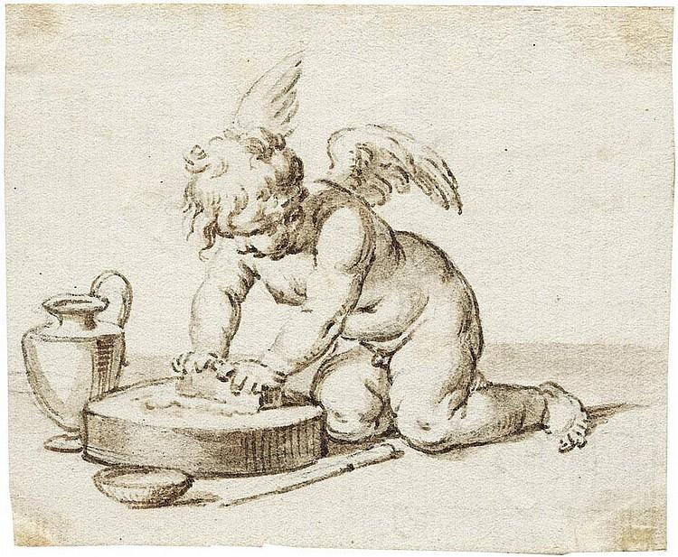 Calvi, Jacopo Alessandro: Allegorie der Künste