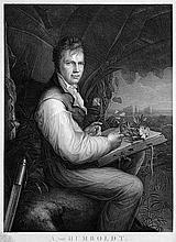 Freidhoff, Johann Joseph: Bildnis Alexander von Humboldts