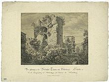 Fries, Ernst: Ansichten des Heidelberger Schlosses