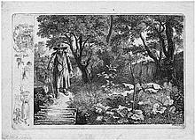 Erhard, Johann Christian: Der Alte vor dem Knüppelsteg
