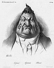 Daumier, Honoré: Le passé. Le présent. lAvenir.