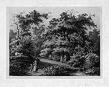 Bar, Alexandre de: Intérieur de forêt