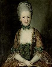 Graff, Anton: Portrait der Henriette von Carlowitz