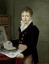 Scheffer, Ary: Bildnis von Louis de Latte