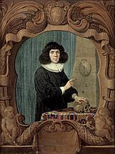 Roos, Johann Heinrich: Porträt des Johann Balthasar Ritter d. J. (1645-1719), Reformprediger in Frankfurt