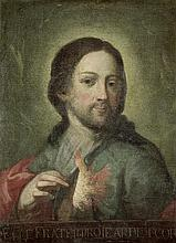 Metz, Johann Martin - zugeschrieben: Christus zeigt sein brennendes Herz