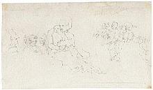 Bella, Stefano della: Umkreis. Mutter mit Kind auf ihrem Schoß sitzend