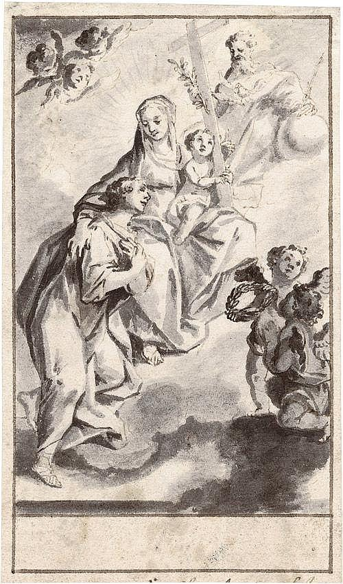 Eichler, Gottfried: Sieben Entwürfe zu Heiligendarstellungen