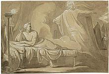 Nadorp, Franz: Der Geist Caesars erscheint dem Brutus