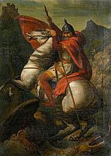 Strähuber, Alexander: Der hl. Georg im Kampf mit dem Drachen