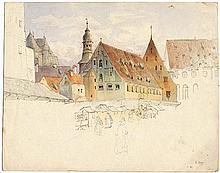 Eibner, Friedrich: Der Viktualienmarkt in München