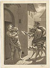 Retzsch, Moritz: Illustration zum Cypressenkranz