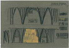 Poelzig, Hans: Faust, Bühnenaufbau