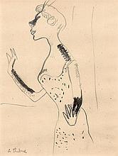 Chabaud, Auguste: La Chanteuse