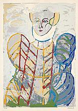 Berrocal, Miguel: Bildnis einer Frau