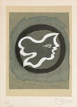 Braque, Georges: Profil grec (Griechisches Profil)