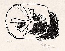 Braque, Georges: Oiseau en Vol