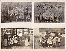 China: Souvenir album of a German fleet officer stationed inTsingtau