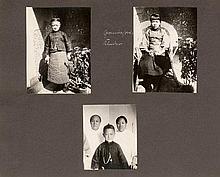 China: Private souvenir album of German hopsital in Tsingtau (Qingdao)