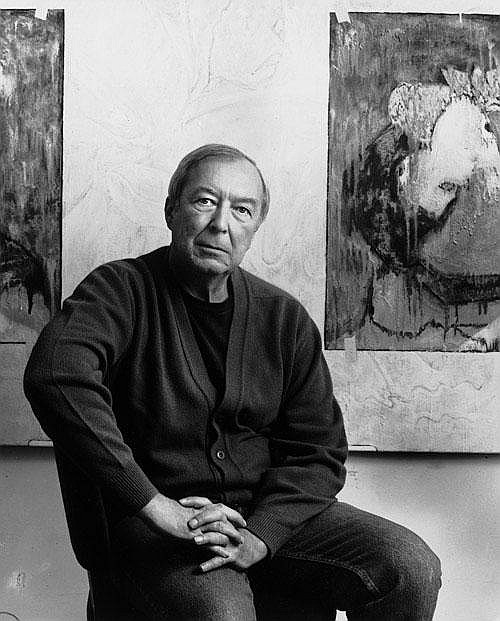 Namuth, Hans Jasper Johns Jasper Johns at the