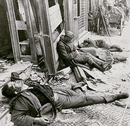 Shagin, Ivan Exhausted Russian Soldier Exhausted