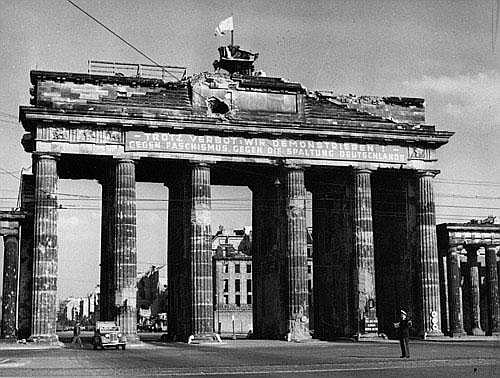 Ries, Henry Brandenburg Gate / My First Photograph