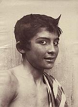 Gloeden, Wilhelm von: Portrait of a boy