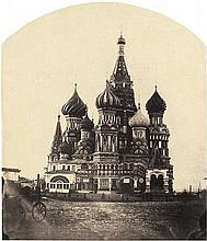 Russia: Saint Basil's Cathedral in Moscow