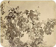 Braun, Adolphe: Vine with black and white currants