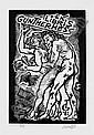 Erotische Exlibris: Sammelalbum mit 115 Exlibris. 1910-20, Franz von Bayros, Click for value