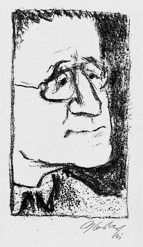 Sandberg, Herbert: April 1961 (3 sign. Orig.-Graphiken)