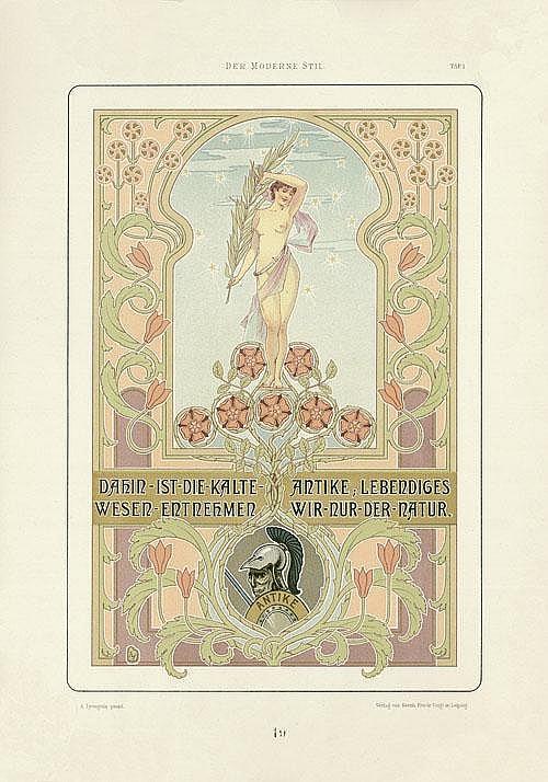 Lyongrün, Arnold: Der moderne Stil. Leipzig 1898