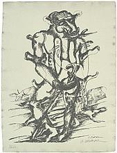 Zadkine, Ossip: Euripides. Die Arbeiten des Herakles