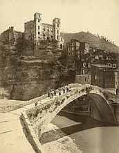 Alinari, Vittorio: Dolceacqua - ponte castello dei Doria