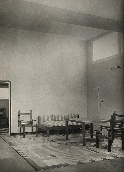 Bauhaus Wohnzimmer Musterhaus Am Horn Weimar