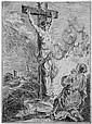 Dandré-Bardon, Michel-Francois: Maria Magdalena in Anbetung des Gekreuzigten, Michel-Francois Dandre-Bardon, Click for value