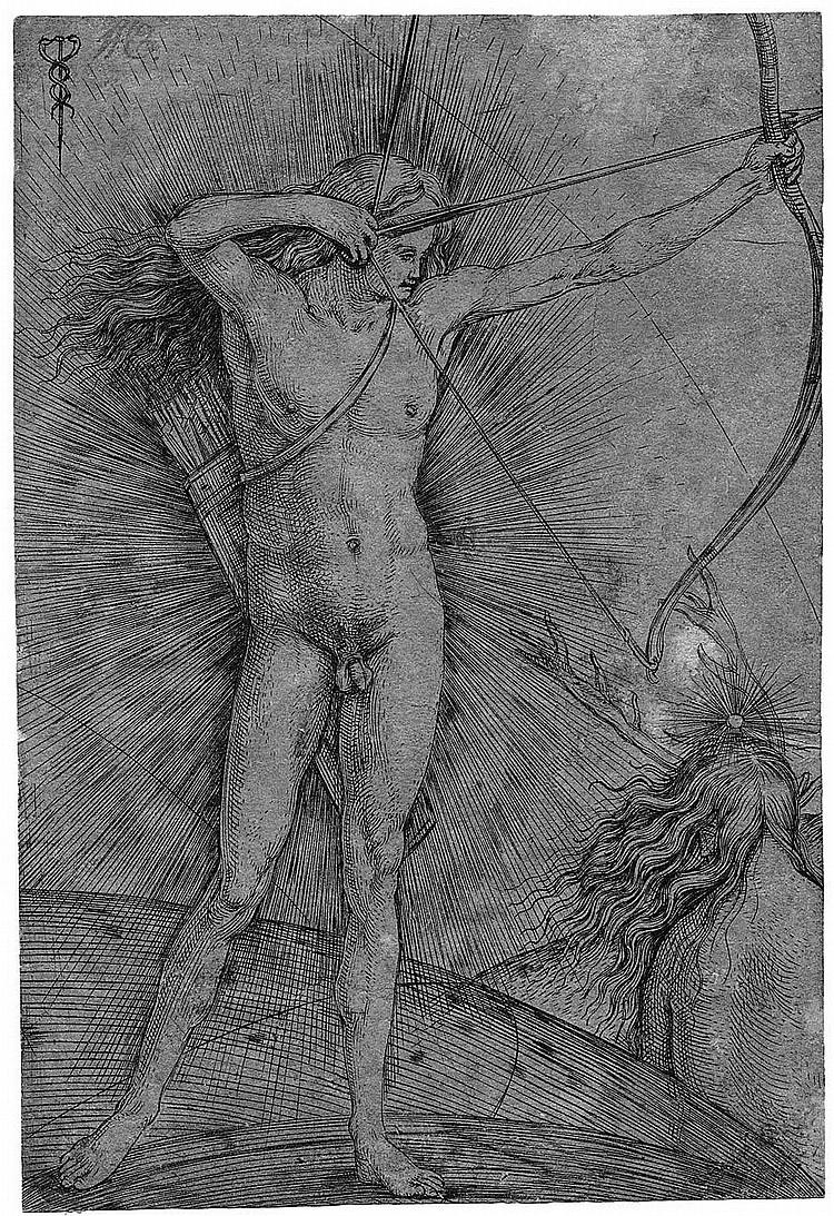 Barbari, Jacopo de´: Die Sonne und der Mond