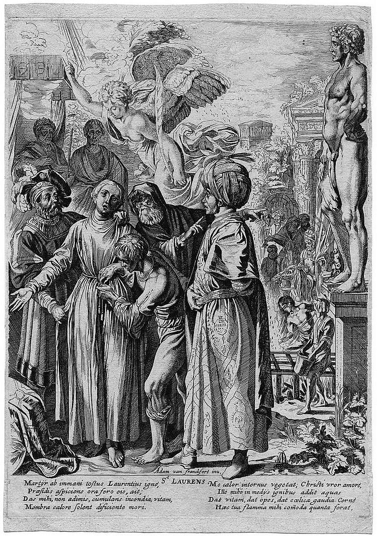 Soutman, Pieter Claesz.: Das Martyrium des hl. Laurentius