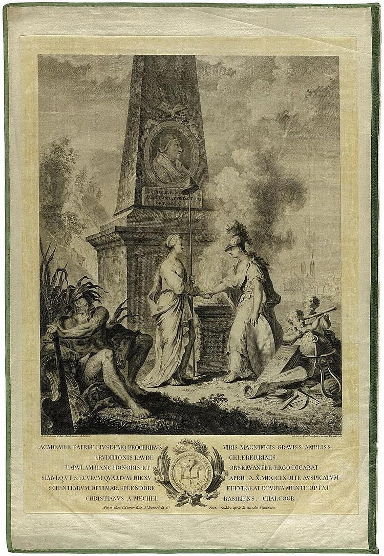 Mechel, Christian von: Die Gründung der Universität Basel