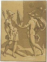 Skippe, John: Merkur spricht zu einem Krieger