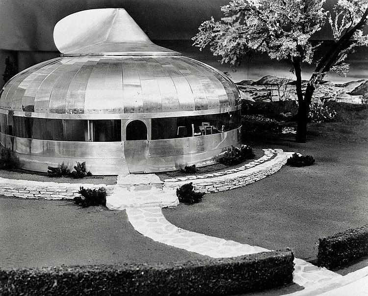 Buckminster Fuller: Buckminster Fuller model houses