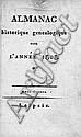 Almanac historique généalogique: pour l'année 1808 (unzensierte Ausgabe)