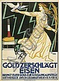 Diez, Julius: Gold zerschlägt Eisen, Julius Diez, Click for value