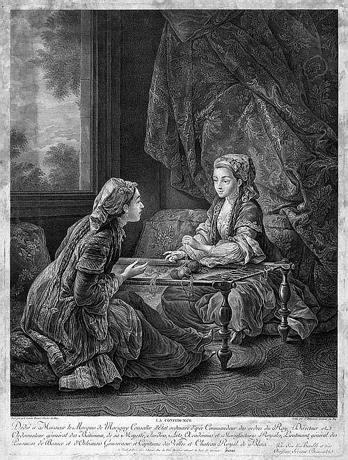 Beauvarlet, Jacques Firmin: La Confidence - La Sultane