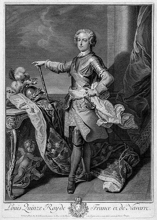 Larmessin, Nicolas de: Louis XV