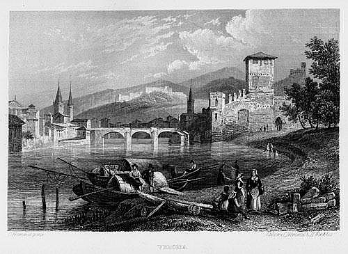 Frommel, Carl Ludwig: Pittoreskes Italien