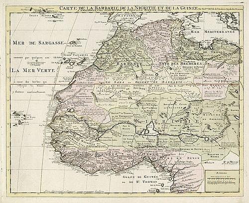 Afrika (de l'Isle): Cate de la Barbarie de la